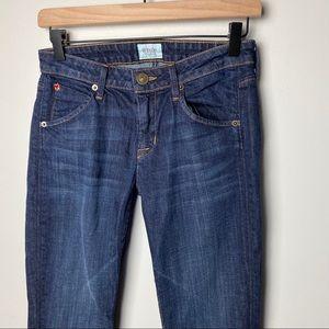 Hudson Jeans Jeans - Hudson Carly Midrise Straight Leg Jeans